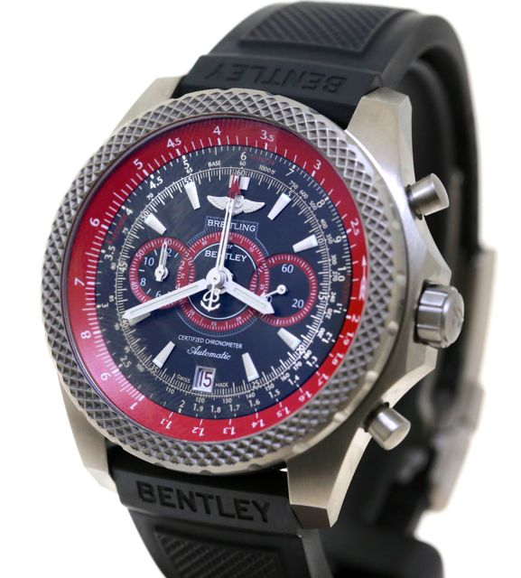 Breitling For Bentley SuperSport Light Body Titanium On