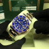 S/N 3493 Rolex Submariner DateTwo Tone, Factory Blue diamond dial Ref: 116613LB