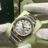 S/N C552 Rolex Datejust II 41mm S/S with White Gold Bezel, Diamond Dial, Ref: 116334