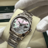 S/N 2937 Rolex Day Date 118209 18ct White Gold Mother of Pearl Dial, Rolex Service