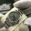 S/N 3594 Rolex Oyster Perpetual 34mm Green Dial