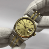S/N 3502 Rolex Oysterquartz Datejust Stainless Steel & 18ct Yellow Gold