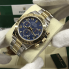 S/N 3632 Rolex Daytona Blue Dial Ref: 116523 Stainless Steel and 18ct Yellow Gold