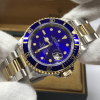 S/N 3569 Rolex Submariner Ref 16613 Two Tone Blue dial Cream Markers