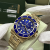 S/N 3674 Rolex Submariner Date Ceramic, Blue Dial, 18k Yellow Gold Ref: 116618LB