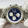 Breitling for Bentley GT Day Date Chronograph Blue Dial
