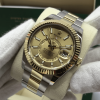 Rolex Skydweller Steel & Yellow Gold, Champagne Dial
