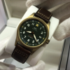 2019 Baselworld release IWC Spitfire, Bronze case with Green Dial, Ref: IW326802